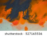 overflowing bright orange and... | Shutterstock . vector #527165536