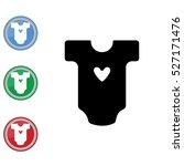 web line icon. baby clothes ...