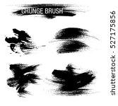 vector set of grunge brush...   Shutterstock .eps vector #527175856