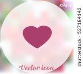 heart icon | Shutterstock .eps vector #527184142