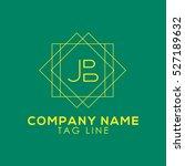 jb logo | Shutterstock .eps vector #527189632