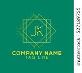 jk logo | Shutterstock .eps vector #527189725
