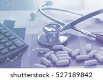 medical marketing and... | Shutterstock . vector #527189842