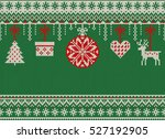merry christmas and new year... | Shutterstock .eps vector #527192905