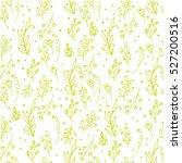 herbal seamless pattern. herbs... | Shutterstock .eps vector #527200516