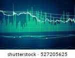 forex market background ... | Shutterstock . vector #527205625