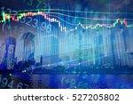 forex market background ... | Shutterstock . vector #527205802