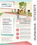 template for advertising... | Shutterstock .eps vector #527215075