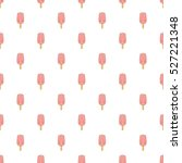 pink ice cream on a stick... | Shutterstock . vector #527221348