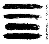 ink brush line collection  set .... | Shutterstock .eps vector #527238226