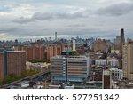 manhattan view from harlem  new ...   Shutterstock . vector #527251342