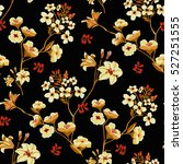 seamless floral pattern in... | Shutterstock .eps vector #527251555