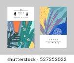 set of creative universal... | Shutterstock .eps vector #527253022