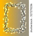 set of realistic color garlands ... | Shutterstock .eps vector #527270236