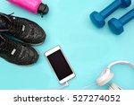 sports equipment   sneakers ... | Shutterstock . vector #527274052