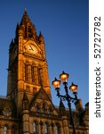 Town Hall In Manchester  Uk  A...
