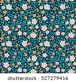 cute floral pattern in the... | Shutterstock .eps vector #527279416
