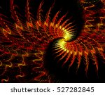 abstract fractal background  ... | Shutterstock . vector #527282845