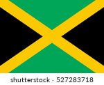jamaica vector flag | Shutterstock .eps vector #527283718