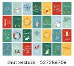 vector big collection of hand... | Shutterstock .eps vector #527286706