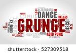 grunge. word cloud  type font ...   Shutterstock .eps vector #527309518