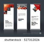 business vector set of modern... | Shutterstock .eps vector #527312026