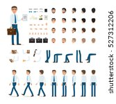 person creation set. man with... | Shutterstock .eps vector #527312206