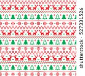 new year's christmas pattern... | Shutterstock .eps vector #527331526