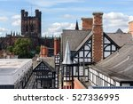 chester cathedral is a church... | Shutterstock . vector #527336995