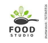food studio vector logo concept.... | Shutterstock .eps vector #527365516