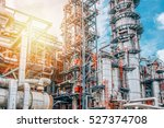 industrial zone the equipment... | Shutterstock . vector #527374708