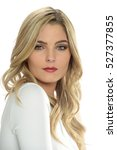 portrait of young beautiful... | Shutterstock . vector #527377855