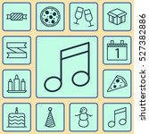 set of 12 new year icons. can...