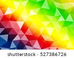 bright color crumpled... | Shutterstock . vector #527386726