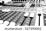 sound mixer control panel ... | Shutterstock .eps vector #527390002
