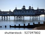 Eastbourne Pier In Calm Sunny...