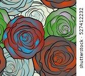 vector seamless pattern....   Shutterstock .eps vector #527412232