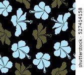 vector seamless pattern of... | Shutterstock .eps vector #527414158