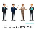 businessman character design no ... | Shutterstock .eps vector #527416936