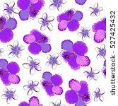 bright hawaiian design with... | Shutterstock .eps vector #527425432