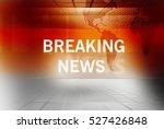 graphical breaking news... | Shutterstock . vector #527426848