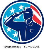 illustration of an american... | Shutterstock .eps vector #527439646