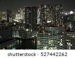 tokyo night view | Shutterstock . vector #527442262