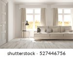 white room with sofa.... | Shutterstock . vector #527446756