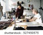 creative design dress fashion... | Shutterstock . vector #527450575