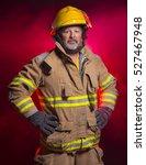 Portrait Of Fireman Fire...