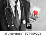 Doctor Care Heart On Mobile