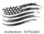 usa flag vector grayscale icon | Shutterstock .eps vector #527512822