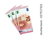 thirty euro in bundle of... | Shutterstock . vector #527517322