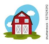 stable farm product emblem | Shutterstock .eps vector #527529292